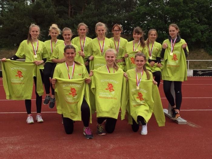 Schülerinnen siegten beim Landesfinale in Leichtathletik