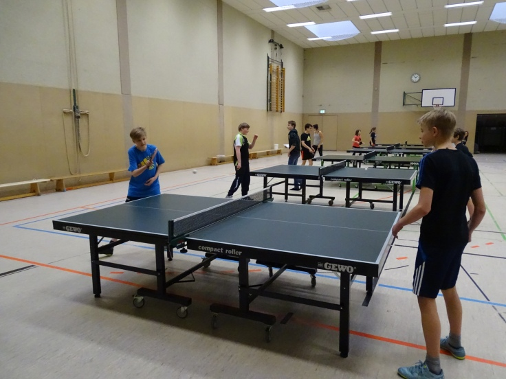Tischtennis AG