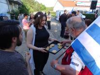 Dritte Demo in Glöwen