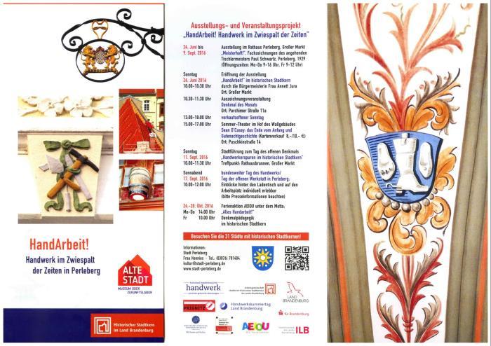 Hw Flyer und Einladungskarte mit Programm (Copy)
