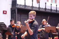 Arne Hastedt an der Violine